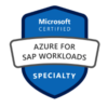Microsoft AZ 120 Azure for SAP Workloads