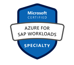 Microsoft AZ 120 Azure for SAP Workloads